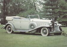 1932 Cadillac V16 Auto100 Postcard unused VGC