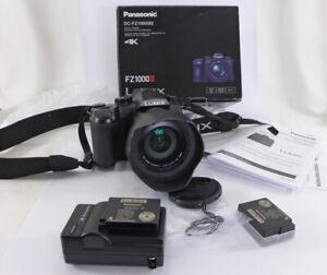 Panasonic FZ1000 M2 II 20.1MP w/24-400mm zoom in box, books, batteries, Nice NR