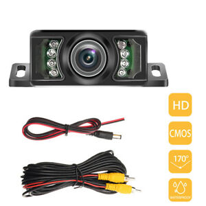 Car Rear View Camera Reversing Parking Kit IR Night Vision Waterproof 170 degree