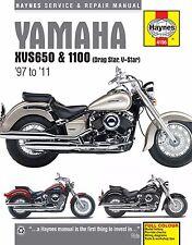 1998-2011 Yamaha VStar V-Star XVS 650 1100 HAYNES REPAIR MANUAL