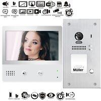 Wlan Wifi Video Türsprechanlage 2Draht Bus 7 Zoll Videospeicher Kamera 170°