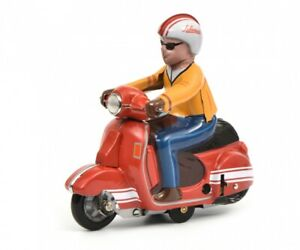 Schuco Scooter-Charly figure red sheet clockwork car Limited 1500 450098500