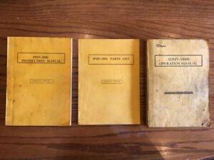 AGMA ADMV-3000S Manuals £ 100 + VAT
