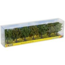 NOCH 25090 - H0/TT/N/Z - Obstbäume, grün, 7 Stück, ca. 8 cm hoch - NEU in OVP