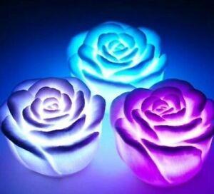 New Personalized Rose Blinking LED Light