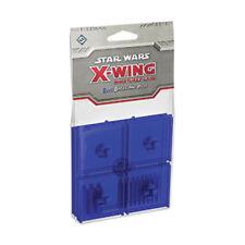 X-Wing Miniaturas Juego: Azul bases y clavijas