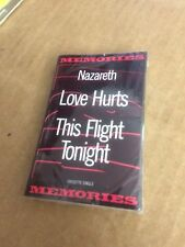 NAZARETH LOVE HURTS THIS FLIGHT TONIGHT FACTORY SEALED CASSETTE SINGLE C10