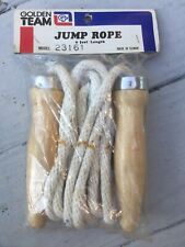 Vintage Golden Team Jump Rope New Old stock in package