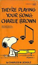Charlie Brown ,1974 comic book - They're Playing Your Song