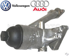 For Audi A6 A8 Quattro R8 RS4 S5 S6 VW Touareg Oil Filter Housing Genuine