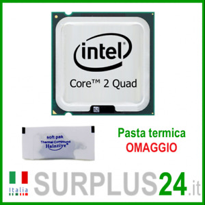 CPU Intel Core2Quad 2.40 GHZ Q6600 2.40GHz/8M/1066 Douille 775 Processeur
