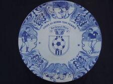 Coupe du monde 1998 France plat publicitaire pâté Grand Mère delfts blauw