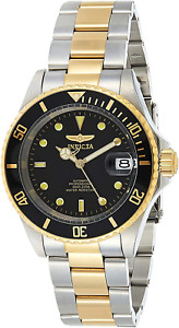 Invicta Men's 8927OB Pro Diver 18k Gold Ion-Plated and Stainless Steel Watch, Tw