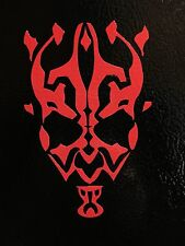 2 Darth Maul Sith Jedi window sticker vinyl decal car jdm funny star wars honda