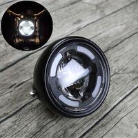 Universal 165mm 12V Motorrad Weiß LED Scheinwerfer Nebelleuchte für Honda Suzuki