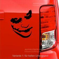 Joker cara payaso face 15cm b37 auto pegatinas Heck tuning sticker JDM chocante