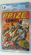 PRIZE COMICS # 3 PUBLICATIONS CGC 1.0 1940 VERY SCARCE BOOK ONLY 5 ON CENSUS