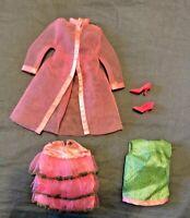Vintage Barbie Doll Clothes Scene Stealers #1845 Complete 1968