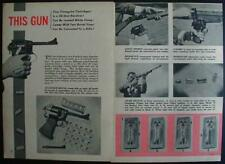 38 Dardick Triangular Cartridge Revolver 1957 pictorial