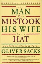 The Man Who Mistook His Wife for a Hat Paperback Oliver W Sacks FREE SHIPPING
