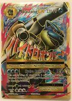 MEGA Blastoise EX FULL ART ULTRA RARE 102/108 Pokemon XY Evolutions HOLO NM