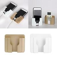 Multifountion Storage Stand Charging Holder Wall Mount Bracket For Mobile P Z0S9
