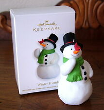 Hallmark 2011 WINTER FRIENDS - Keepsake Christmas Ornament – NEW!