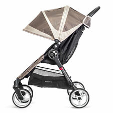 Baby Jogger City Mini Sand/Stone Pushchairs Single Seat Stroller