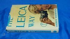 VINTAGE 1963 THE LEICA WAY PHOTOGRAPHER COMPANION BOOK CAMERA MANUAL MATHESON