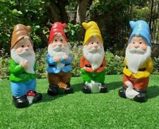 Garden gnome 30cm. Choice of four colours