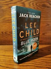Lee Child Blue Moon 1st Edition Hardback Book Free Delivery