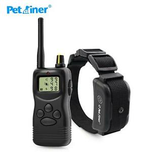 Petrainer 900b-1 Rechargeable And Waterproof Remote 1000m Electric Dog Trining C