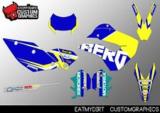 FOR HUSABERG 2009-2012 FULL CUSTOM GRAPHICS KIT STICKERS MOTOCROSS DECALS MX