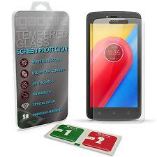 Protector de Pantalla Vidrio Cristal Templado para Motorola Moto C Plus 2017 9H
