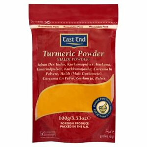 East End Pure Ground Tumeric Curcumin Powder (Free Delivery)