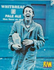 PAUL McCARTNEY - Ram Promotional (1971) - Music Concert Poster Art Print