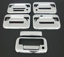 2004-2014 FORD F150 4 DR CHROME DOOR + TAILGATE HANDLE COVE+KEYPAD+KH