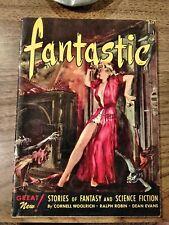 FANTASTIC VOL. 1 #3 (DEC 1952) SPILLANE EDGAR ALLAN POE - VIRGIL FINLAY PULP