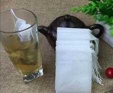 100-Pack Cotton Muslin Drawstring Reusable Bags Bath Soap Herbs Tea 7x9cm b