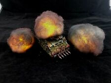 Wargaming Vehicle Smoke Cloud Damage Markers Explosion War Game Warhammer 40k