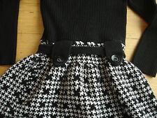 Girl's Sweater Dress Size 4 Turtle Neck 4 Toddler Clothes Leggings Shirt Skirt