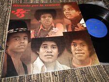 THE JACKSON 5 FIVE Mirando por la ventan LP 1972 SPAIN MICHAEL JACKSON PROMO