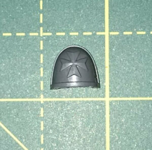 Black Templar Shoulder pad Deathwatch Kill Team Warhammer 40k Bits