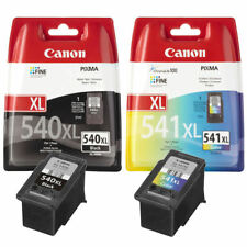 PG540XL CL541XL Black & Colour Genuine Canon Ink Cartridges For PIXMA MG3250