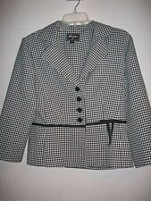 BLAZER SKIRT SWEET SUIT WOMANS SIZE 8 REGULAR