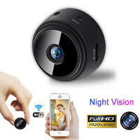 Mini Camera 1080P HD Spy IP WIFI Wireless Hidden Cam Security Dvr Night Vision