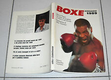 Mauro Piasso ANNUARIO BOXE 1989 Mike Tyson Damiani Parisi Patrizio Oliva