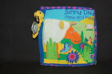Mahattan Baby Sunny Day Come & Play Book Plush Stuffed  Lovey Toy