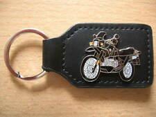 Porte clé BMW r 100 GS r100gs paris/Dakar Classic Noir Black 0467