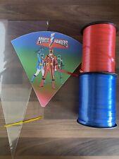 10 Power Rangers Birthday DIY Party Cones